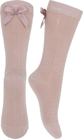 Karla knee socks with bow