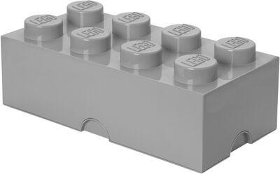 LEGO STORAGE BRICK 8 - GREY