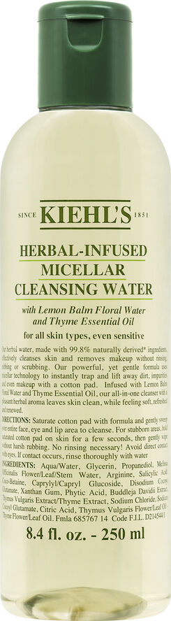 Herbal-Inflused Micellar Cleansing Water
