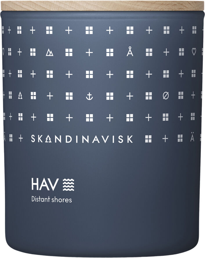 HAV Scented Candle w Lid 200g