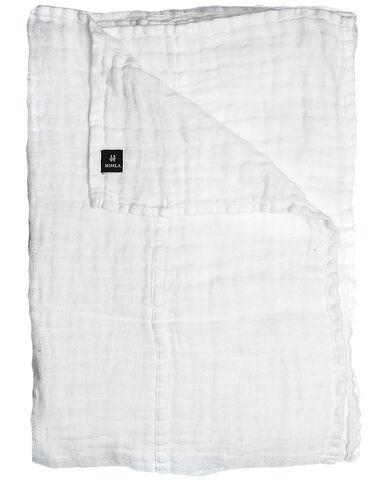 Hannelin sengetæppe white