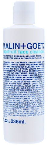 Grapefruit Face Cleanser 236 ml.