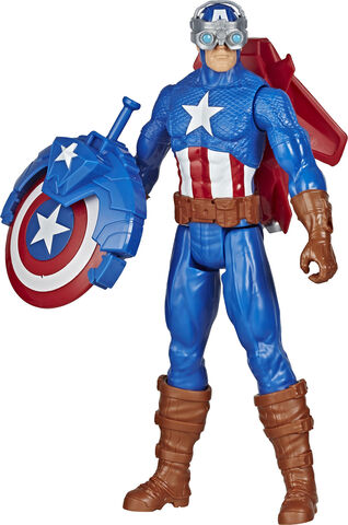 Avengers Titan Hero Blast Gear Captain America