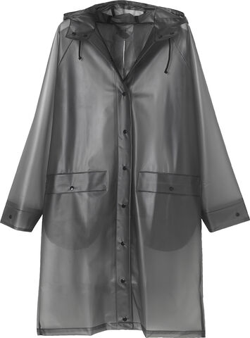Transparent Magpie Raincoat
