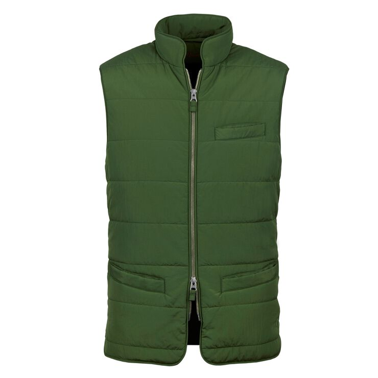 Soft Quilted Nylon Vest