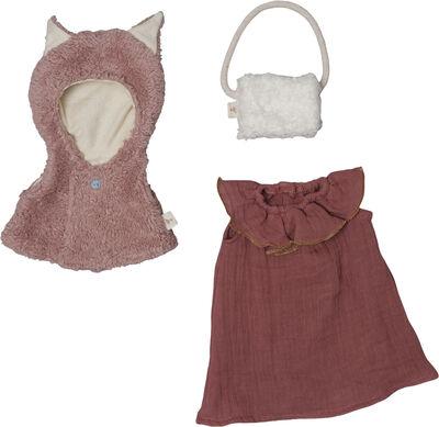 Doll Clothes set - Fox cape