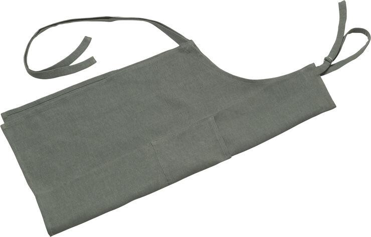 Forklæde olivengrøn L95cm B70/80cm