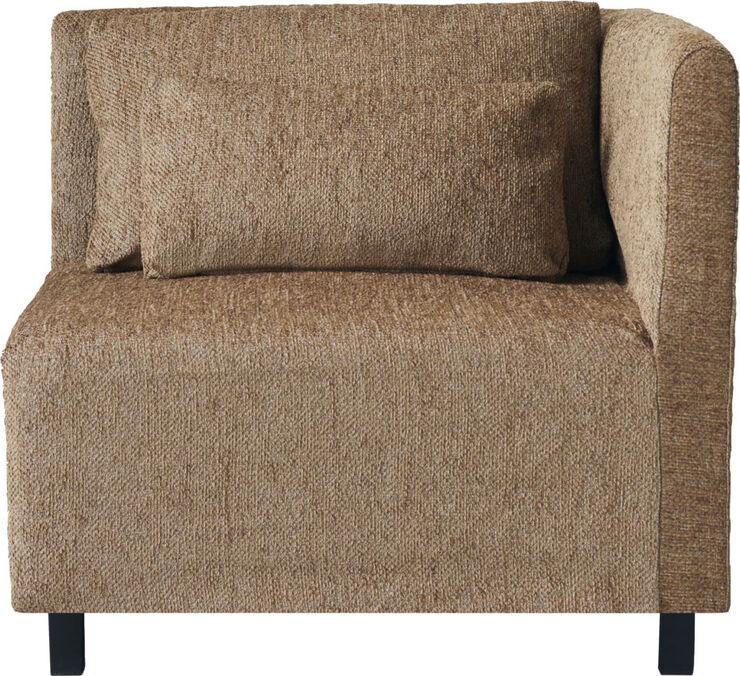 Sofa, Hjørnesektion, Camphor, Camel
