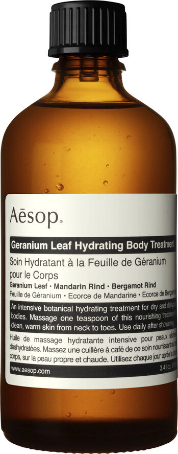 Geranium Leaf Hydrating Body Treatment