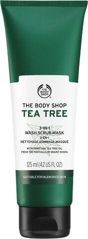 Tea Tree 3-in-1 Wash Scrub Mask