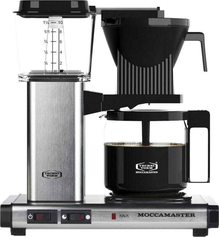 Kaffemaskine Brushed Silver