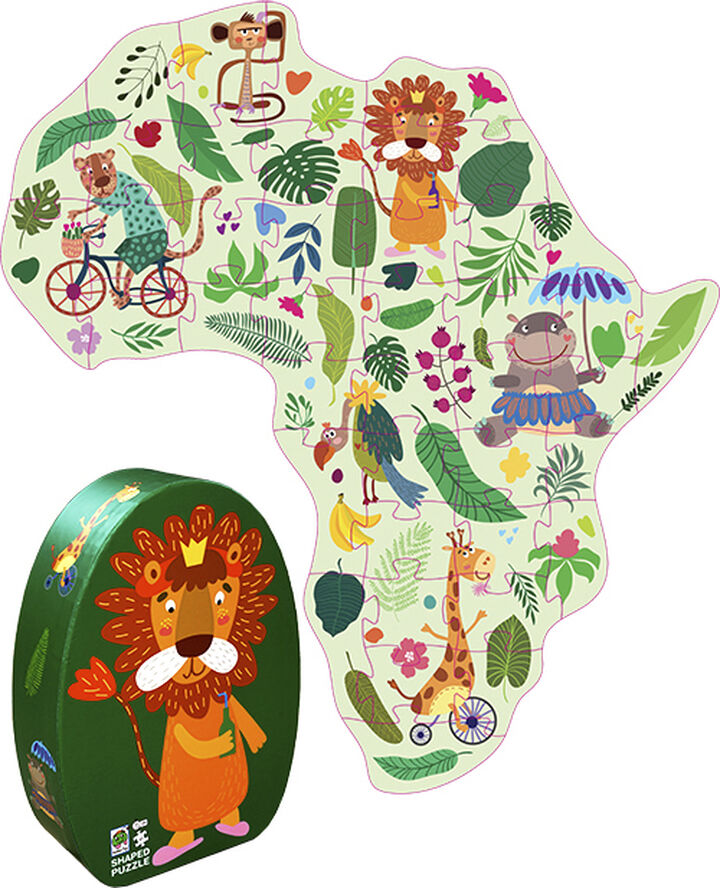 Afrika puslespil