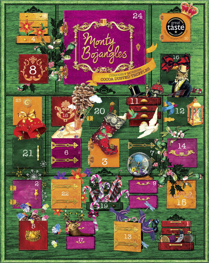 Curiosity cabinet advent calender-