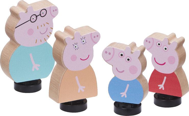 Peppa's Wood Play Family Figure Pack CDU