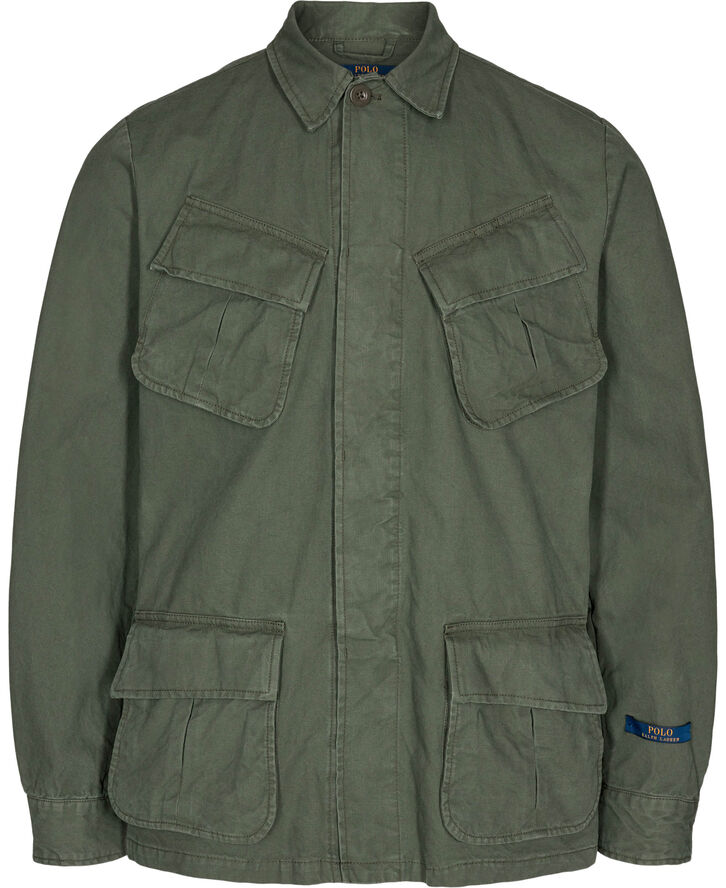COTTON RIPSTOP-JUNGLE JACKET