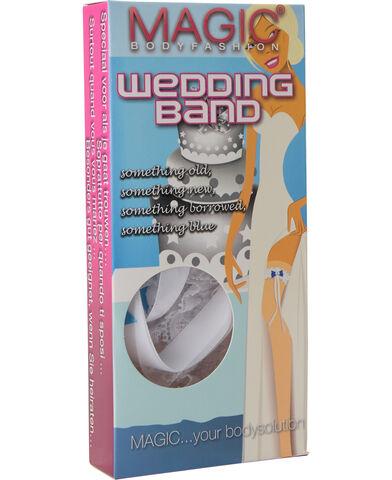Magic Wedding Band - white - one size