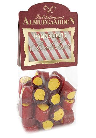 Rabarber bolcher med smag af friske rabarber