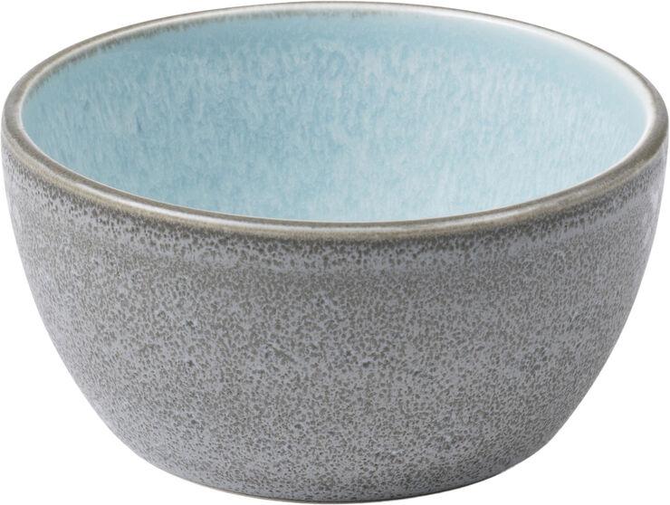 Skål 10 cm grå/blå