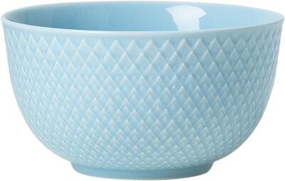 Rhombe Skål Ø11 cm turkis porcelæn