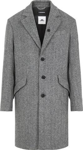 Willem Herringbone Wool Coat