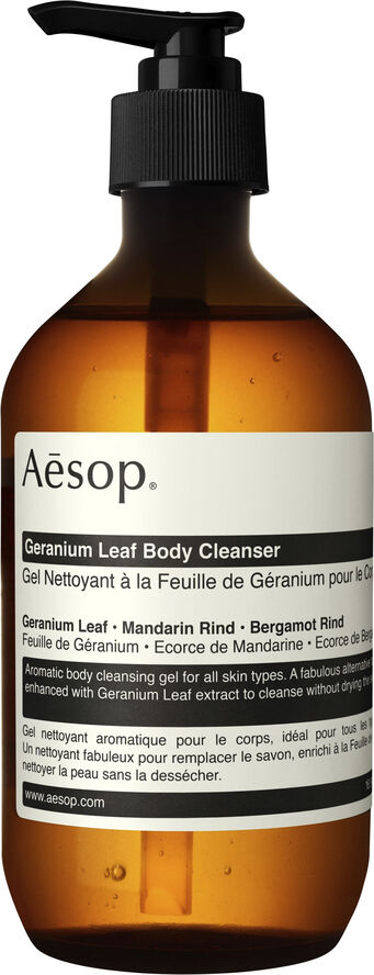 Geranium Leaf Body Cleanser 500mL
