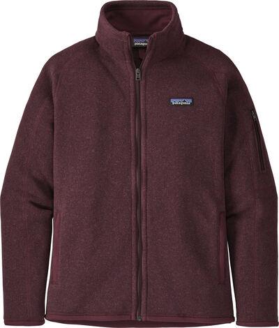 PAT W Better Sweater Jkt, Chicory Red
