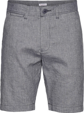 CHUCK regular linen shorts - Vegan