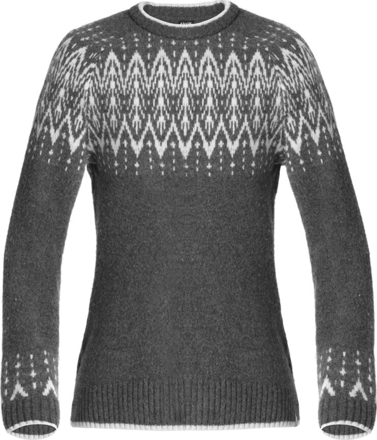 ASIVIK W Isefjord sweater, grey