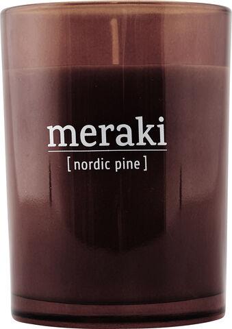 Duftlys, Nordic Pine, dia.: 8 cm,