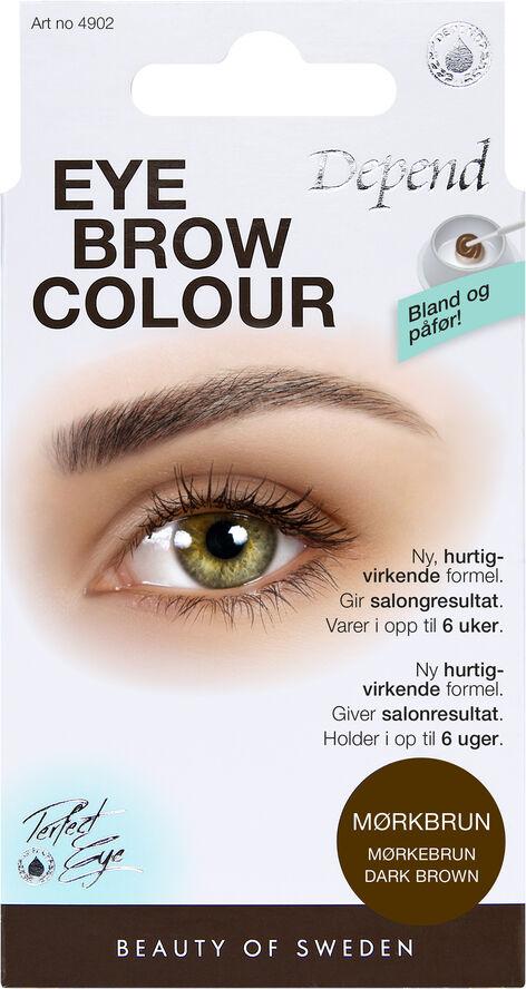 Eyebrow col. Dark brown