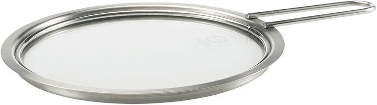 Tallerkenlåg glas 16 cm.
