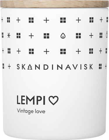 LEMPI Scented Candle w Lid 65g