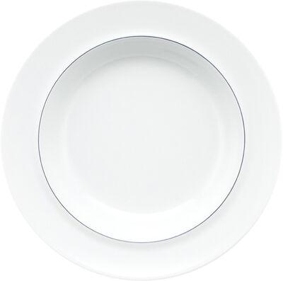BLÅ dyb tallerken, 4 stk.