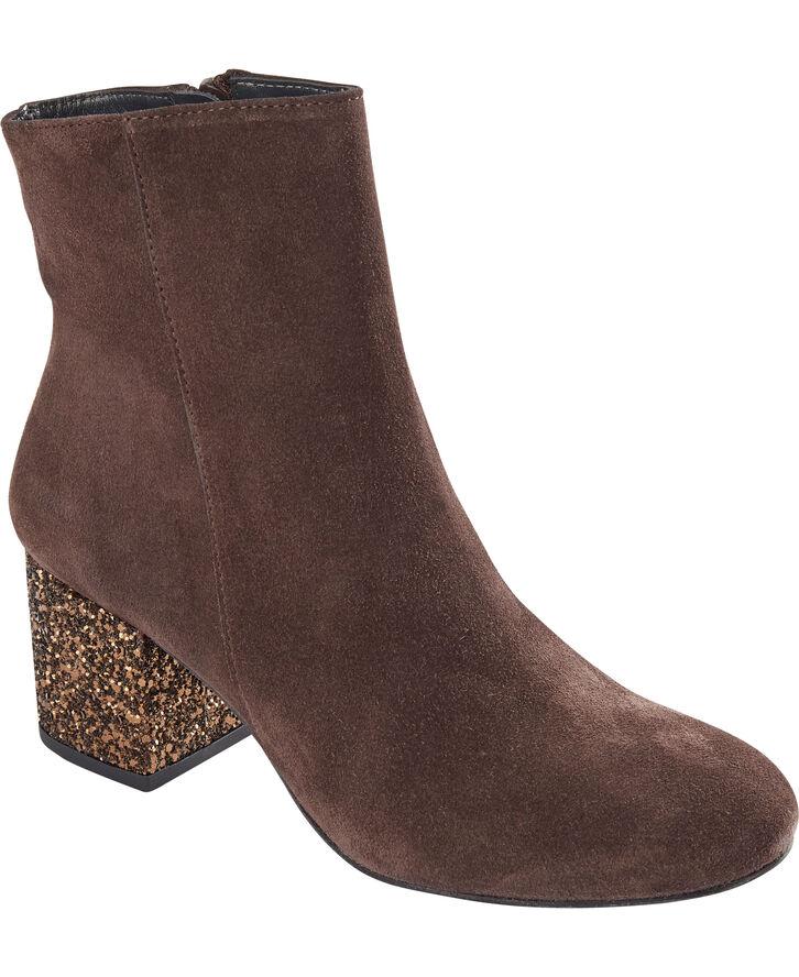 Støvlet med blokhæl