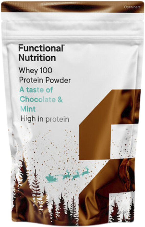 Functional Nutrition Whey 100 Chocolate & Mint Christmas