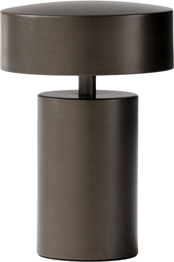 Column, Table Lamp, Bronze