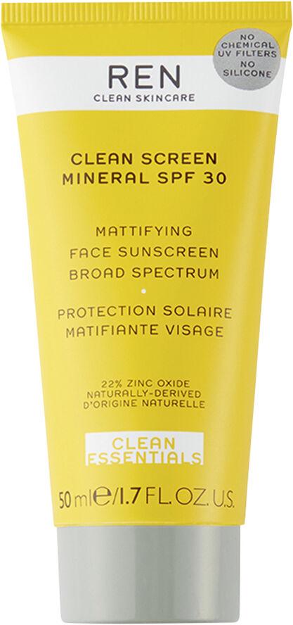 Clean Screen Mineral SPF 30 Mattifying Face Sunscreen