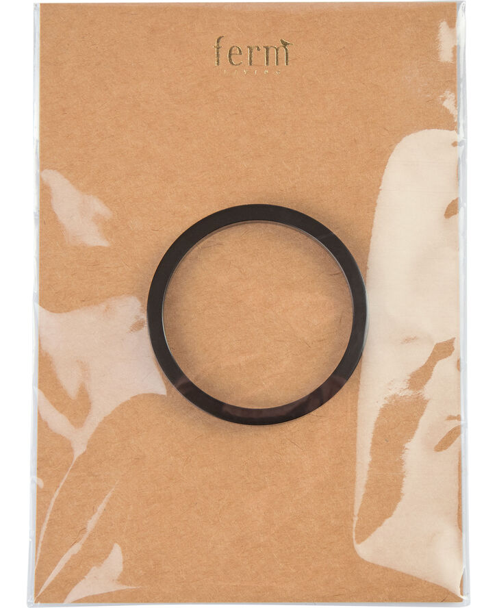Collect ring - Black Brass