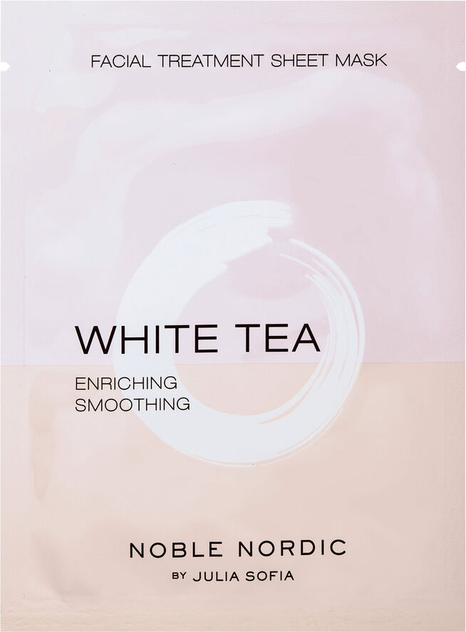 White Tea Facial Treatment Sheet Mask