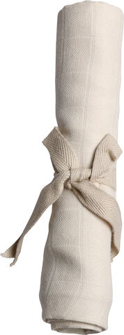 Stofble GOTS - Muslin Nature White