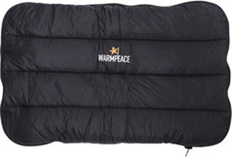 Warmpeace Down Pillow Zippered, Black