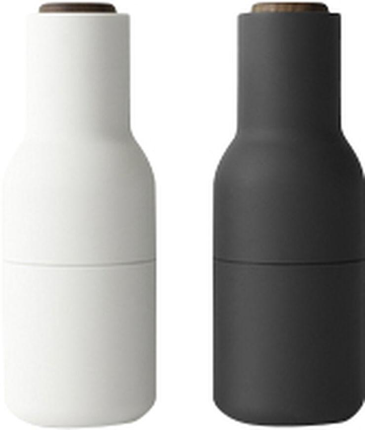 Bottle Grinder, Ash/Carbon, Walnut, 2-pack