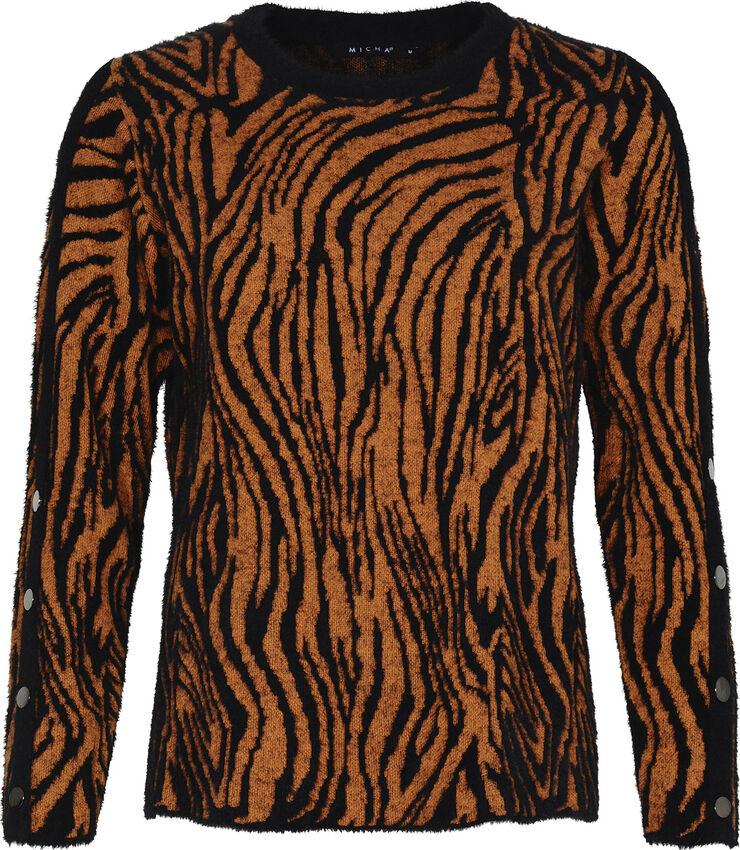 Jumper_ Cosy Zebra Knit