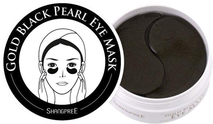 ShangPree Hydrogel Eye Mask Gold Black Pearl 60 stk