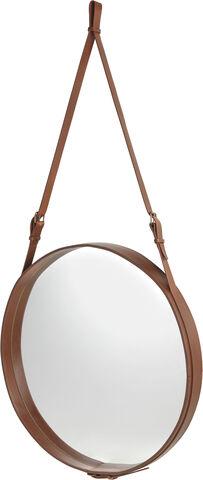 Adnet spejl Ø: 58 cm.