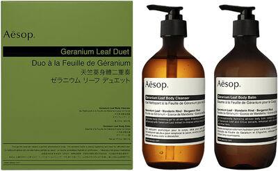 Geranium Leaf Duet