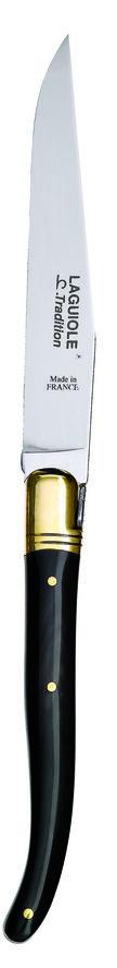 CHL Steakkniv Sort Horn/ME-1