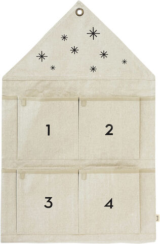 Star Advent Calendar - Sand
