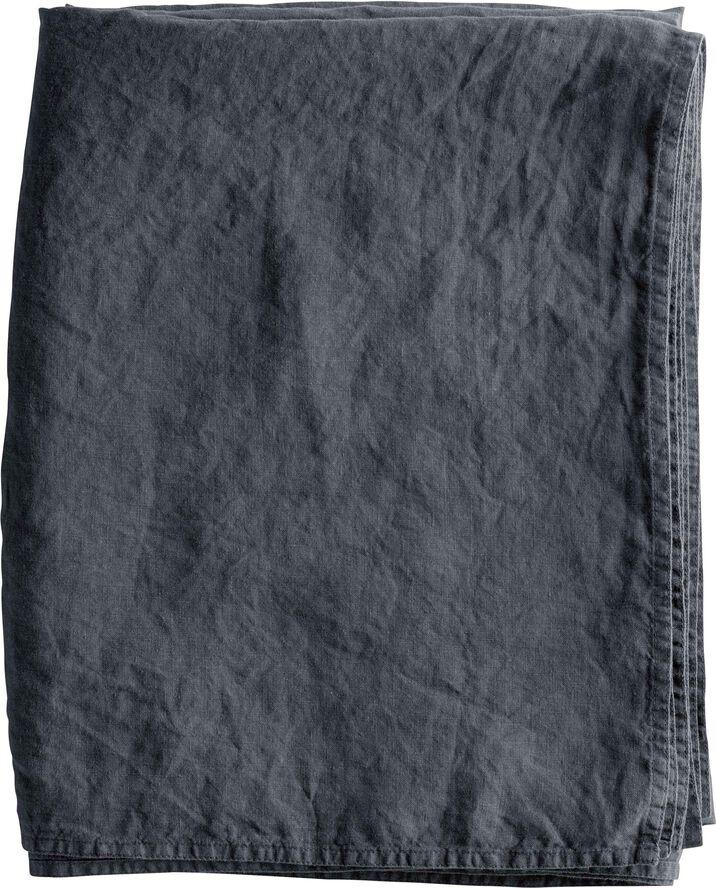 Plaid/gardin/dug 160x260 cm 100% hørphantom