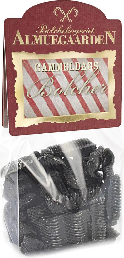 Dameskrå bolcher med smag af salt lakrids